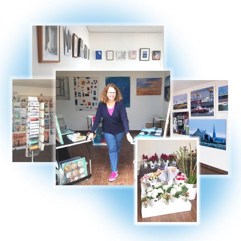 Auswahl verschiedener Hafenbox-Bilder